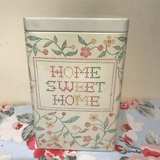 Vintage Mary Quant Biscuit Storage Tin Home Sweet Home
