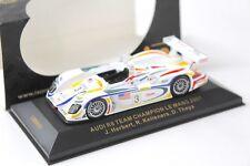 1:43 IXO Audi R8 Team Champion Le Mans 2001 #3 Herbert NEW bei PREMIUM-MODELCARS