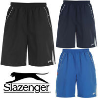 SLAZENGER MENS WOVEN MESH LINED SWIM SHORTS CASUAL RUNNING SUMMER SPORTS BOTTOMS