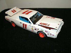 #11 BUDDY BAKER 1971 PETTY ENTERPRISES WHITE DODGE 1/24 RARE CUSTOM