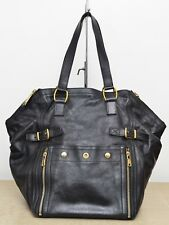 Yves Saint Laurent YSL Downtown Large Black Tote Used Authentic