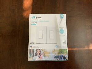 TP-Link Smart Wi-Fi Light Switch HS210 3-Way Kit - Brand New