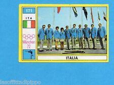 MUNCHEN/MONACO '72-PANINI-Figurina n.171- SQUADRA ITALIA -TIRO-Rec