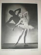 Ballet Violetta Elvin Houston Rogers fotografía 1954
