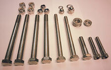 Norton commando 750 / 850 stainless steel crank bolts, nuts, washers set