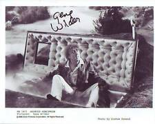 GENE WILDER Signed HAUNTED HONEYMOON Photo w/ Hologram COA