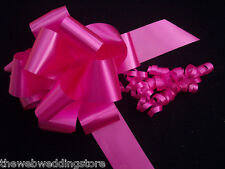 10 x 50mm Deluxe Pull bows, Wedding Car--Pew Ends--Baby Shower--Present wrapping