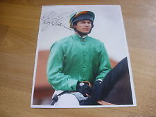 Phillip ROBINSON  Horse Racing Jockey  6/04/98  Original Hand SIGNED Press Photo