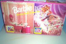 Rare Nrfb 1993 Barbie Beauty Bath & Bed Set with all accessories;working shower