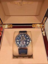ulysse nardin maxi marine chronometer 43mm Blue