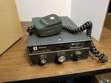 Johnson Messenger 123A 23 Channel CB Radio USA Vintage untested PARTS