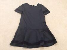 Stunning Black And Lace - Girls Zara Dress Age 7-8