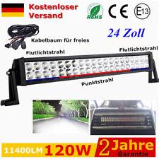 120W LED Arbeitsscheinwerfer für KFZ Rallye Auto LKW Jeep Lichtbalken 12V 24V