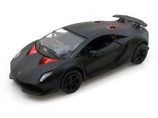 Brand New Kinsmart Lamborghini Sesto Elemento Diecast Toy 1:38 Pull Action Black