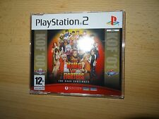 THE KING OF COMBATTENTI Saga Continues 2000-2001 SONY PS2 PLAYSTATION 2