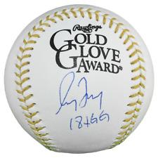 Greg Maddux Signed 18x Gold Glove Inscription Rawlings Official MLB Gold Glove B
