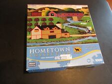 COVERED BRIDGE Hometown Collection 1000 piece jigsaw puzzle