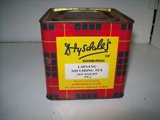 "Vintage Drysdales Of Edinburgh Lapsang Souchong Tea Tin ""L@@K""."