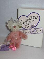 """Pinky & Her Binkie"" Annette Funicello Mohair Bean Bag Ltd Ed Bear - Mib"