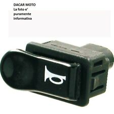 246130020 RMSBotón negro cuernoPIAGGIO50CREMALLERA FAST RAIDER RST19961997