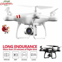 Cool FPV RC Quadcopter 1080P HD Wifi Camera GPS Return Drone Remote Control Gift