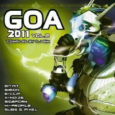 GOA 2011 / 4 = Bitkit/Sirion/Noize/E-Clip/Elfo...=2CD= PSY TRANCE PROGRESSIVE!