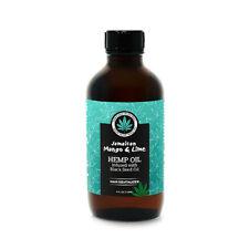 Jamican Mango & Lime Hemp Oil infused w/ Black Seed Oil Hair Revitalizer 4 fl.oz