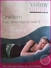 YUMMY MUMMY BODY WRAP - Belly Wrap MATERNITY Womens Pregnancy Baby - New