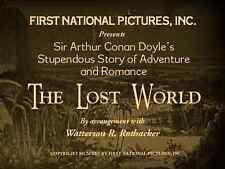 The Lost World (1925) Silent Movie DVD
