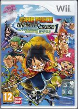 Nintendo Wii ONE PIECE UNLIMITED CRUISE 1 THE TREASURE BENEATH THE WAVES nuovo