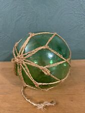 New listing Reproduction Large Green Glass Float Fishing Ball Buoys