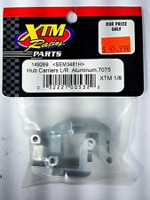 XTM Racing 149269 Hub Carriers L/R Aluminum For X-Terminator, Mammoth, XLB, XT2