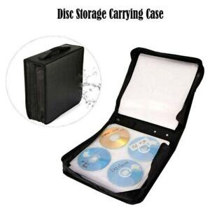 320 CD VCD DVD Classeur Rangement Boite Pochette Etui Range Sac Sacoche