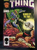 The Thing Volume 1 #17 November 1984  Marvel Comics Stan Lee