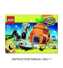 (Instructions) for LEGO 3827 - Adventures in Bikini Bottom -  MANUAL ONLY