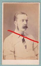 Arthur Appleby (Lancashire County Cricket Club) Original CDV. Accrington, Lancs