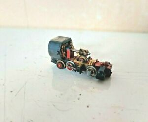 009 Narrow gauge 0-4-2 steam loco chassis
