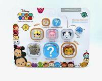 Disney Tsum Tsum Series 4: 9 Pack 7 Characters & 2 Mystery Figures Vinyl 6+
