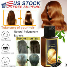 Hair Darkening Shampoo - 100% Natural Organic Polygonum Conditioner and Repair