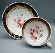 Antique English Porcelain Adams ? Staffordshire Tea Cup & Saucer C1830 Patt 392