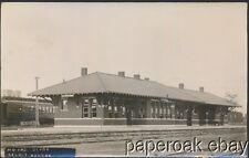 1917 Missouri Pacific Depot In Beloit, Kansas Real Photo Postcard