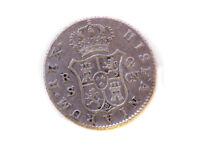 Moneda 2 Reales, Carlos IV, 1806