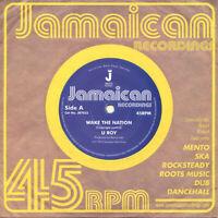 """U-Roy – Wake The Nation   7""""  Vinyl  45rpm  New"""