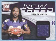 2011 Donruss Elite Football ~ Torrey Smith ~ Ravens ~ Jersey Relic ~ #/d /299