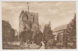 Herefordshire postcard - Bosbury Church, Nr Ledbury (A115)