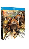 New Attack on Titan: Complete First 1st Season 1 Blu Ray Part 1 and 2