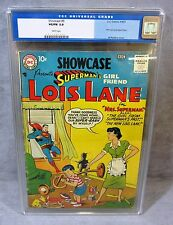 SHOWCASE #9 (1st Superman's Girlfriend Lois Lane app.) CGC 5.0 DC Comics 1957