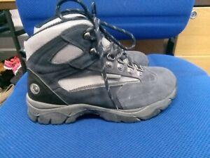 Hi-Tec blue waterproof walking boots size 5/38
