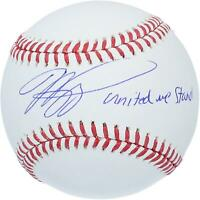 """Mike Piazza New York Mets Signed Baseball with """"United We Stand"""" Insc - Fanatics"""