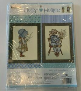 New Bucilla Holly Hobbie & The Suitor Counted Cross Stitch Kit 45219 NIP